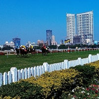 Photo taken at Mahalaxmi Race Course (Royal Western India Turf Club) by GB L. on 2/17/2013