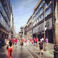 Photo taken at Knez Mihailova by Miloš B. on 7/4/2013
