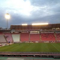"Photo taken at Stadion ""Rajko Mitić"" by Miloš B. on 3/9/2013"