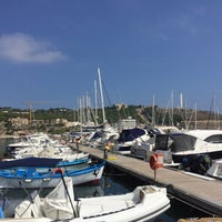 Photo taken at Porto di Leuca by Charlotte S. on 9/16/2016