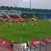 Photo taken at Central Stadium by Марина М. on 10/27/2013
