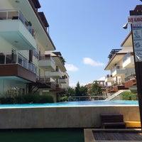 Photo taken at Zarapark Attalos Havuz by Kemal S. on 9/4/2014