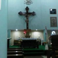 Photo taken at Gereja Hati Yesus yang Maha Kudus by Agustinus R. on 8/25/2013