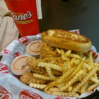 Photo taken at Raising Cane's Chicken Fingers by Tina S. on 10/4/2012