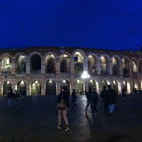 Photo taken at Arena di Verona by Sere B. on 4/8/2013