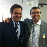 Photo taken at Gabinete Senador Aécio Neves by Tiago F. on 11/7/2012
