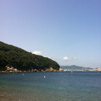 Photo taken at Spiaggia Bagnaia by Ecaterina S. on 7/28/2013