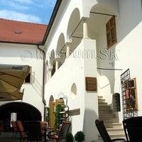 Photo taken at Mestské múzeum Pezinok by pklife.sk on 4/8/2013