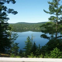 Photo taken at Lac Beaven by Fred L. on 7/27/2013