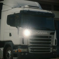 Photo taken at Concessionária Scania by Janaina A. on 7/23/2013