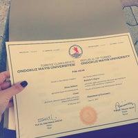 Photo taken at OMÜ Rektörlük Öğrenci Konseyi Başkanlığı by Pelin A. on 6/12/2015