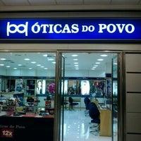 Photo taken at Oticas do povo Shopping Cidade by Isabella D. on 6/5/2013