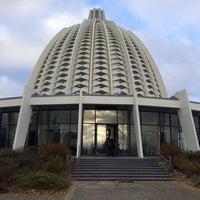 Photo taken at Bahá'í Tempel by Ralf H. on 12/1/2013
