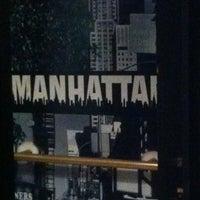Photo taken at Manhattan Café Theatro by Mayara L. on 5/17/2013