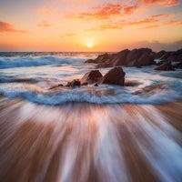 Photo taken at Zenith Beach by Adolfo R. on 12/16/2016