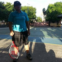 Photo taken at Severina Tennis court by bam d. on 5/5/2013
