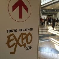 Photo taken at Tokyo Marathon EXPO by Shin on 2/27/2016