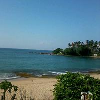 Photo taken at Tangalle Beach by Randula A. on 4/17/2013