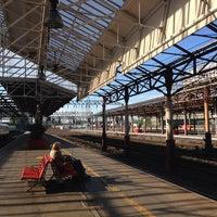 Photo taken at Platform 5 by Simon H. on 5/26/2014