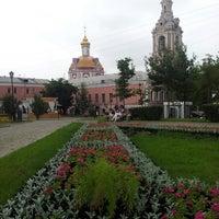 Снимок сделан в Сад им. Баумана пользователем SackMan 7/15/2013