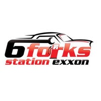 Photo taken at Six Forks Station Exxon by Tom S. on 2/28/2014