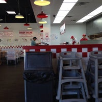 Photo taken at Five Guys by Gueni O. on 5/6/2014