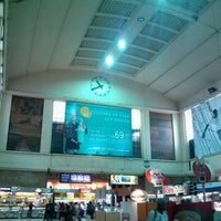 Photo taken at SuperVia - Central do Brasil Train Station by Wallace N. on 7/10/2013