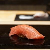 Photo taken at Sushi Tokami by melody j. on 2/1/2015