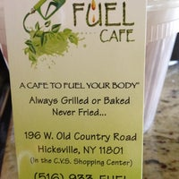 Photo taken at Fuel Your Body Cafe by Jimmy _. on 9/14/2012