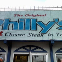 Photo taken at The Original Philly's by Mike E. on 10/27/2012