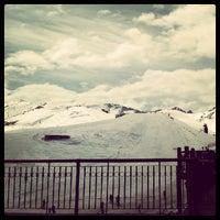 9/24/2012 tarihinde Glaucia P.ziyaretçi tarafından Valle Nevado'de çekilen fotoğraf
