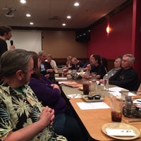 Photo taken at Grotto Pizza by Will G. on 4/7/2015