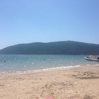Photo taken at Spiaggia di Mugoni by Mark v. on 6/27/2014