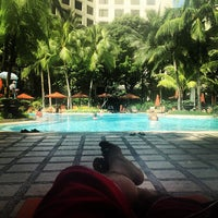 Photo taken at Edsa Shangri-La by Boyet S. on 11/1/2012
