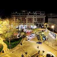 Photo taken at Piazza Bologna by A.K. on 4/10/2013