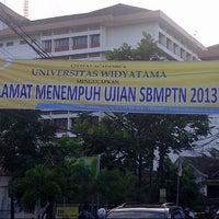 Photo taken at Universitas Widyatama by Rosita Aulia R. on 6/17/2013