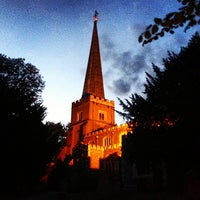 Photo taken at St Mary's Church by Radoslaw M. on 9/12/2013