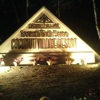 Photo taken at Coconut Village Resort Phuket by bump_bump_bump_bump on 9/27/2013