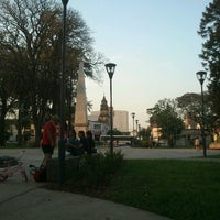 Photo taken at Plaza Belgrano by Gustavo J. on 9/30/2012