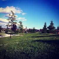 Photo taken at West Crossroads Park by Juliana L. on 6/11/2013