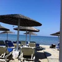 Photo taken at Liberty Beach Bar by Dimitris L. on 5/1/2013