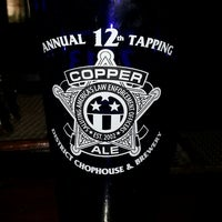 Photo taken at District Chophouse & Brewery by Dwayne D. on 5/12/2013