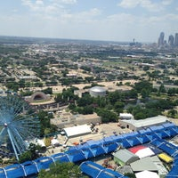 Photo taken at The Top o' Texas Tower by Chris B. on 7/2/2013