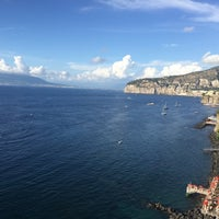 Photo taken at Europa Palace Grand Hotel Sorrento by Essén S. on 8/18/2015