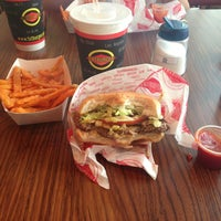 Photo taken at Fatburger by Abigail M. on 6/15/2013