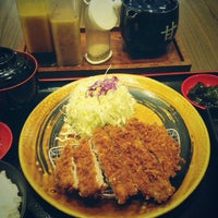 Photo taken at Tonkatsu by Terazawa by Nik on 10/29/2014