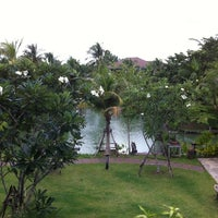 Photo taken at Baan Thai House Homestay by Francesca T. on 8/28/2013