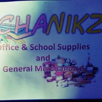 Photo taken at CHANIKZ Office & School Supplies and General Merchandise by Charlene Ann Mildred B. on 6/9/2013