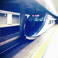 Photo taken at Keisei Ueno Station (KS01) by Luvvy K. on 10/20/2012
