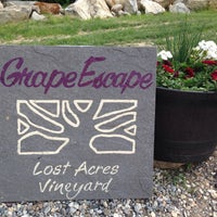 Photo taken at Lost Acres Vineyard by Ernie H. on 5/25/2015